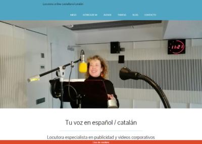 Marta Pérez Locutora